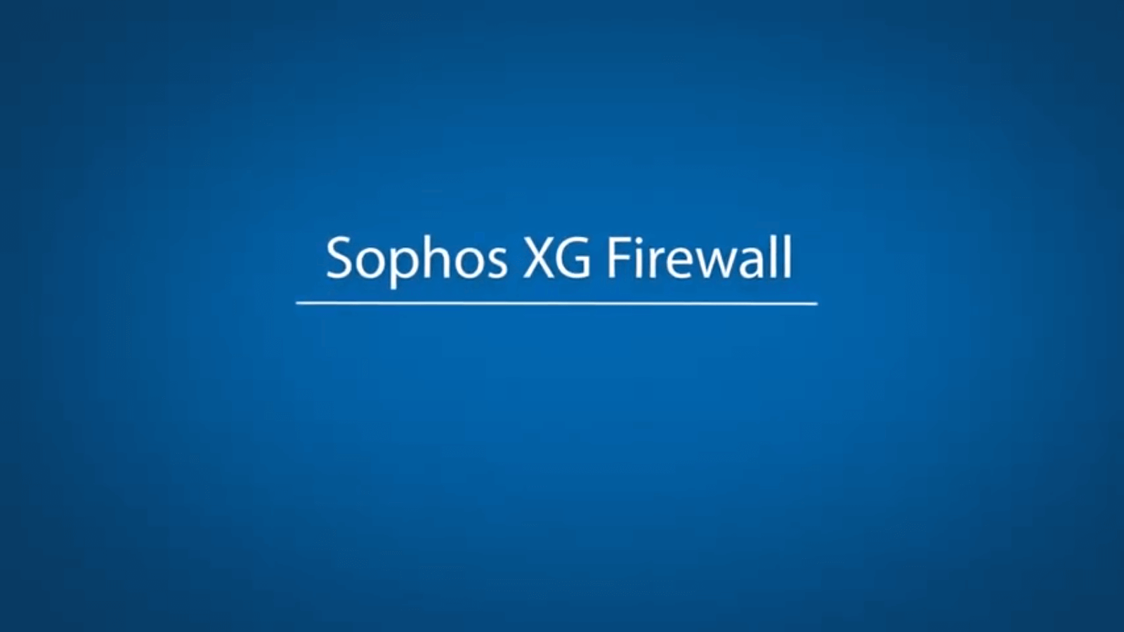 Digit Labs Web Proxy and Firewall - Sophos XG